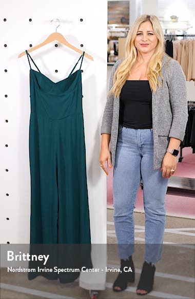 Gilda Crop Wide Leg Jumpsuit, sales video thumbnail