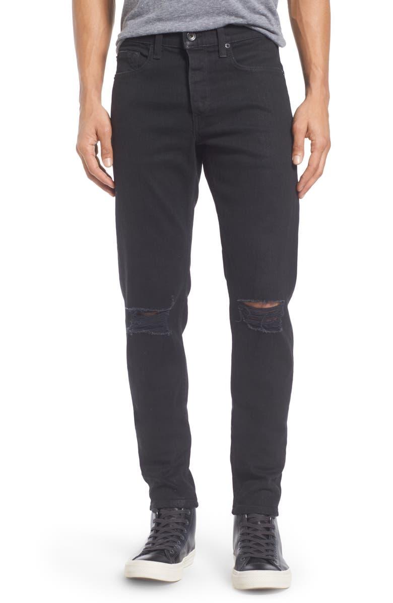 RAG & BONE Fit 1 Skinny Fit Jeans, Main, color, BLACK