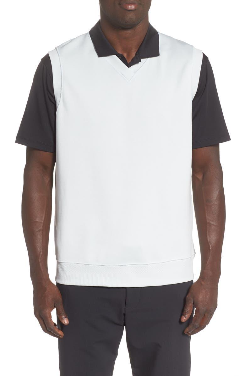 NIKE Dri-FIT Golf Vest, Main, color, PURE PLATINUM/ PURE PLATINUM
