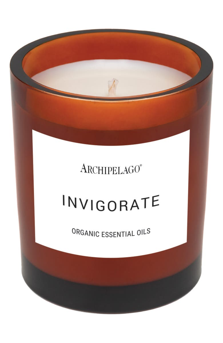 ARCHIPELAGO BOTANICALS Organic Essential Oil Aromatherapy Candle, Main, color, 200
