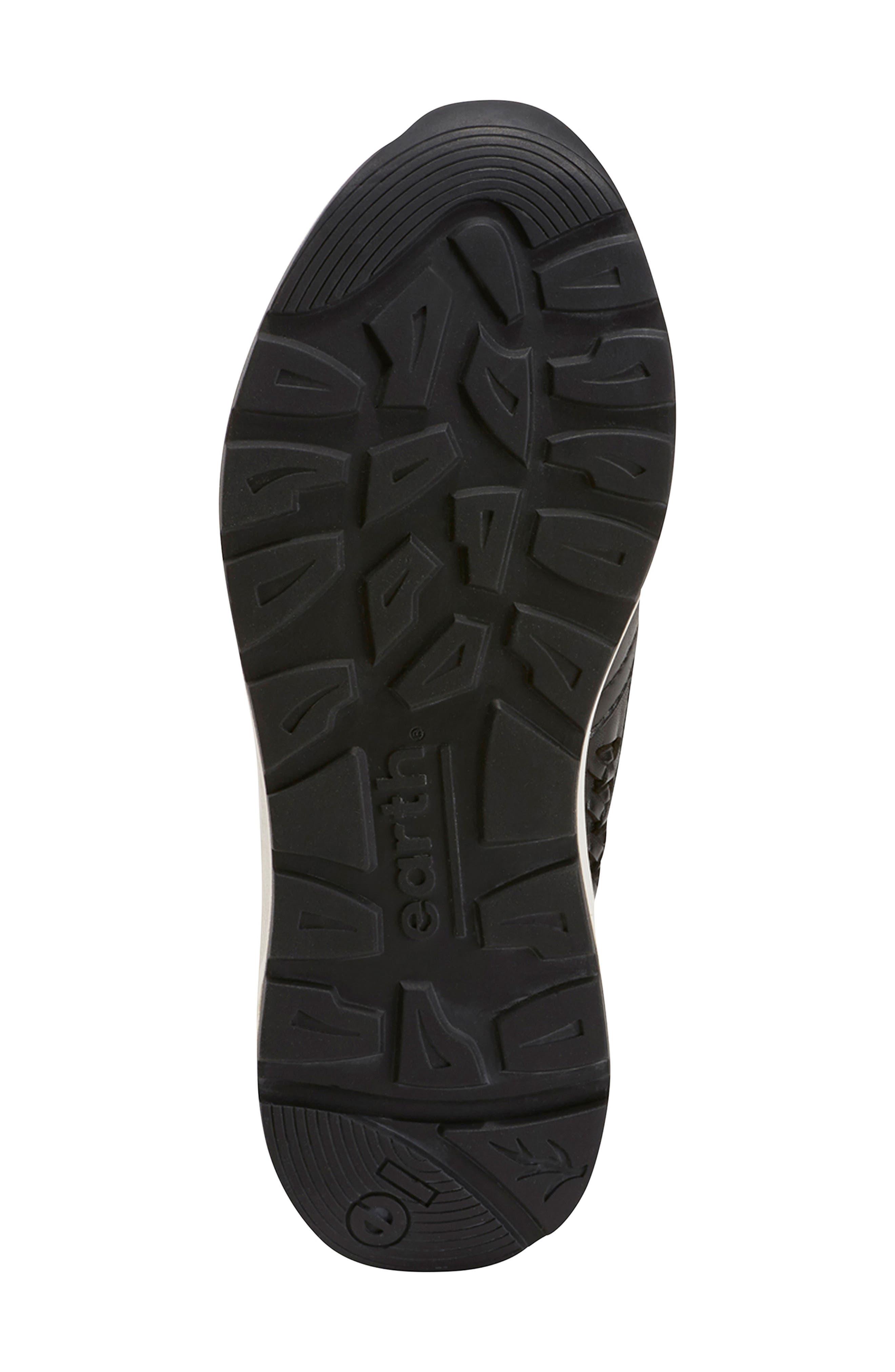 ,                             Ramble Sneaker,                             Alternate thumbnail 6, color,                             BLACK LEATHER