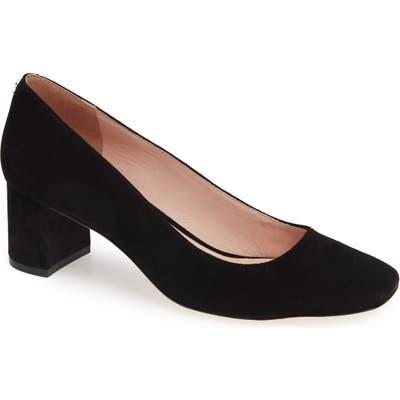 Kate Spade New York Kylah Block Heel Pump- Black