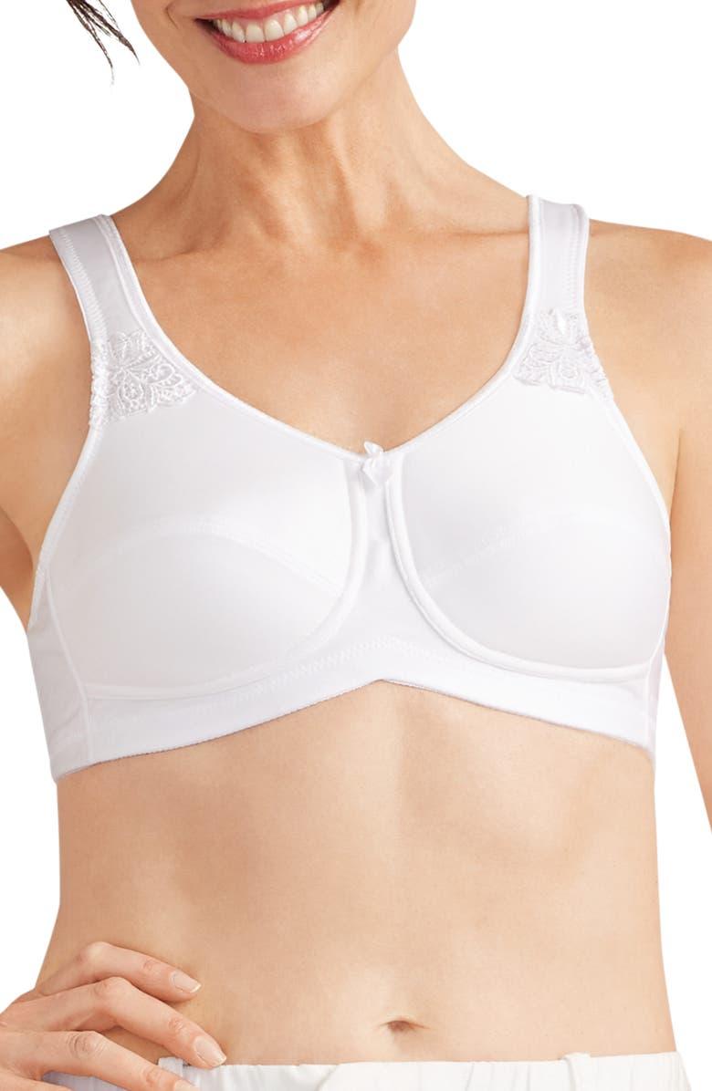 AMOENA Soft Cup Bra, Main, color, WHITE