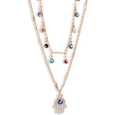 8 Other Reasons Fatima Layer Necklace