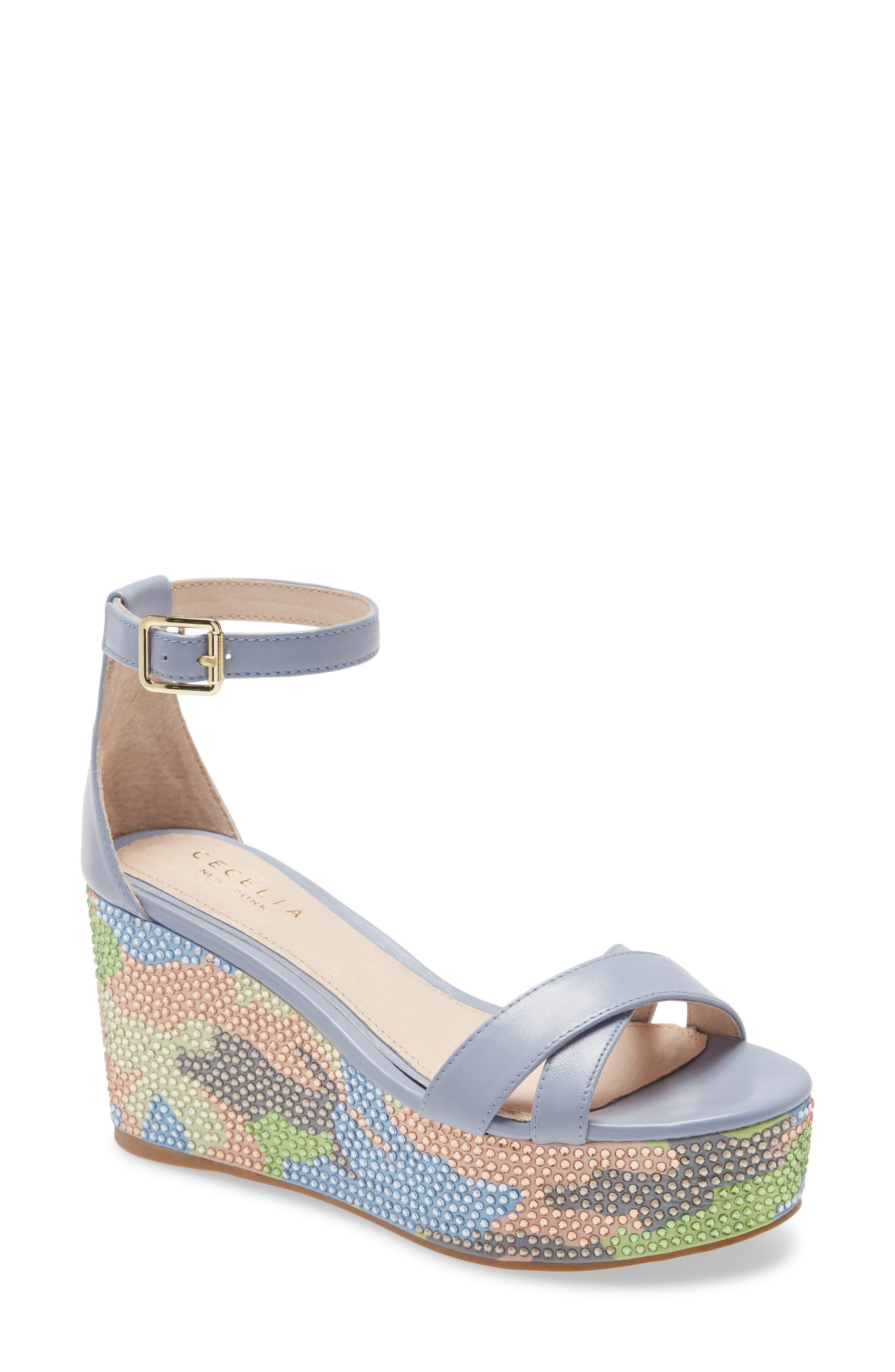 Bella Platform Wedge Sandal