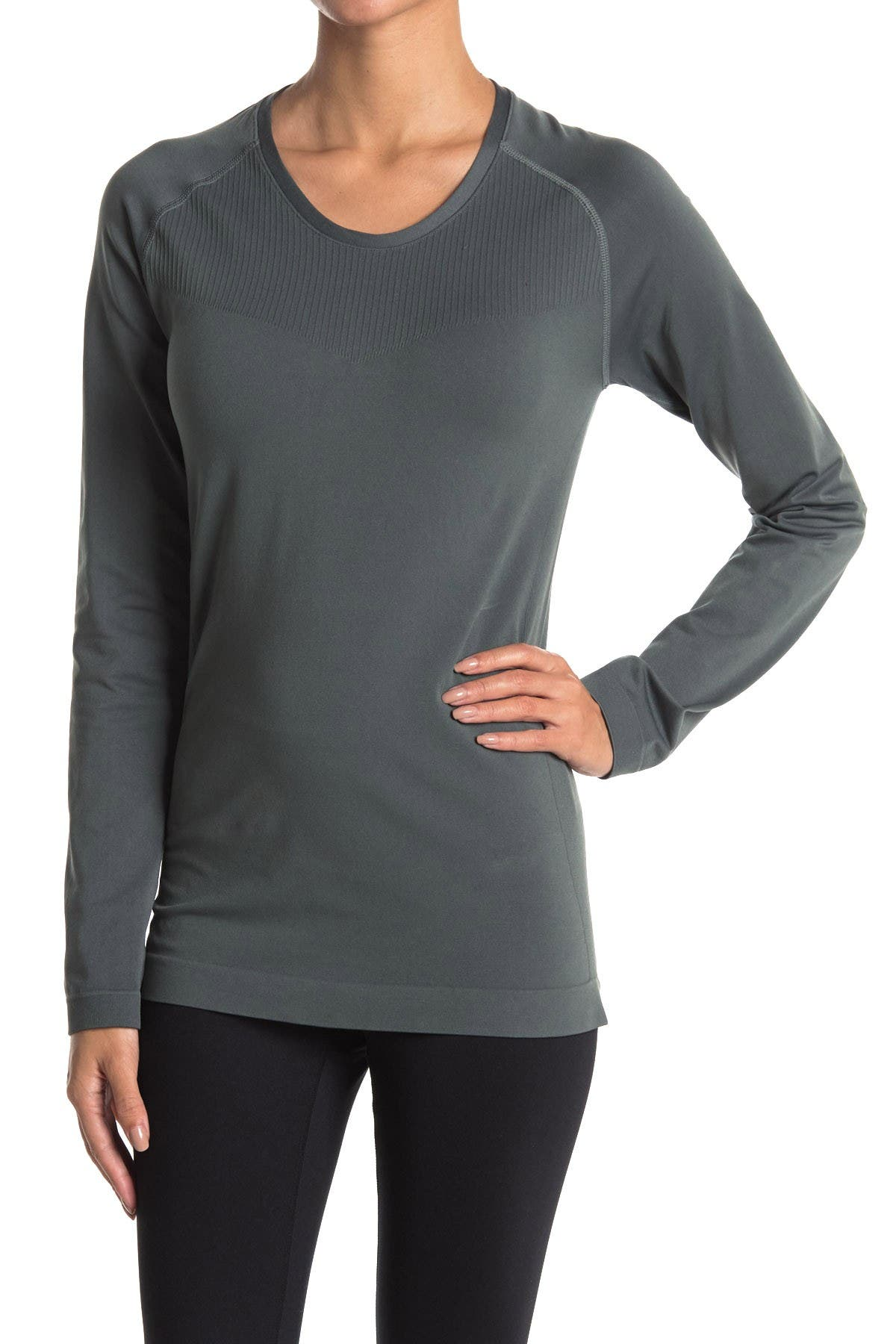 Image of Z By Zella Meridian Seamless Long Sleeve T-Shirt