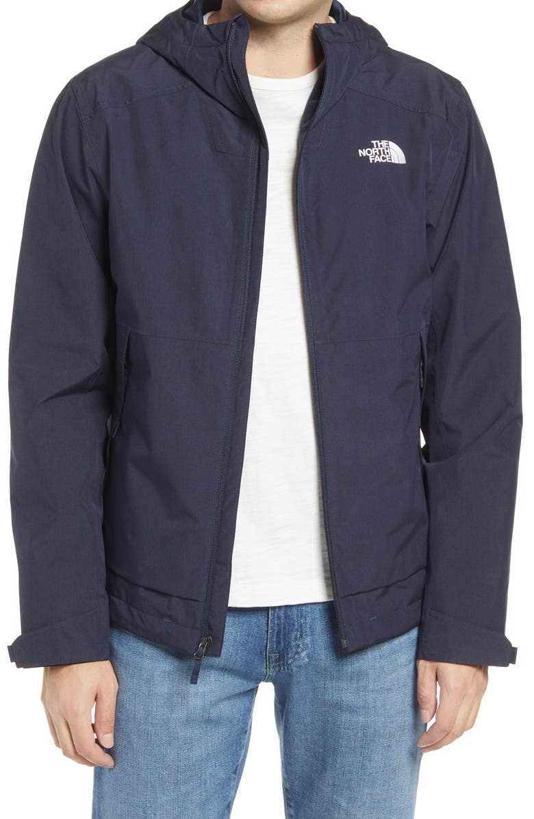 THE NORTH FACE Millerton Hooded Jacket, Main, color, URBAN NAVY HEATHER