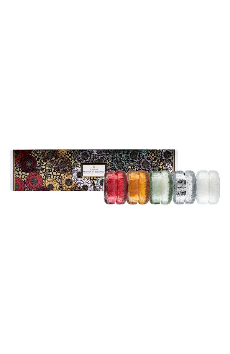 VOLUSPA Japonica Macaron Candle Gift Set, Main, color, COPPER CLOVE