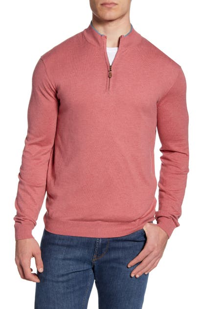 Johnnie-O Sweaters BAILEY QUARTER ZIP SWEATER