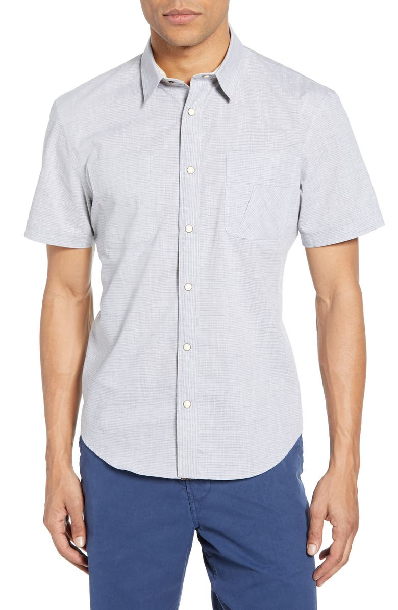 BILLY REID Snap Slim Fit Sport Shirt, Main, color, 463
