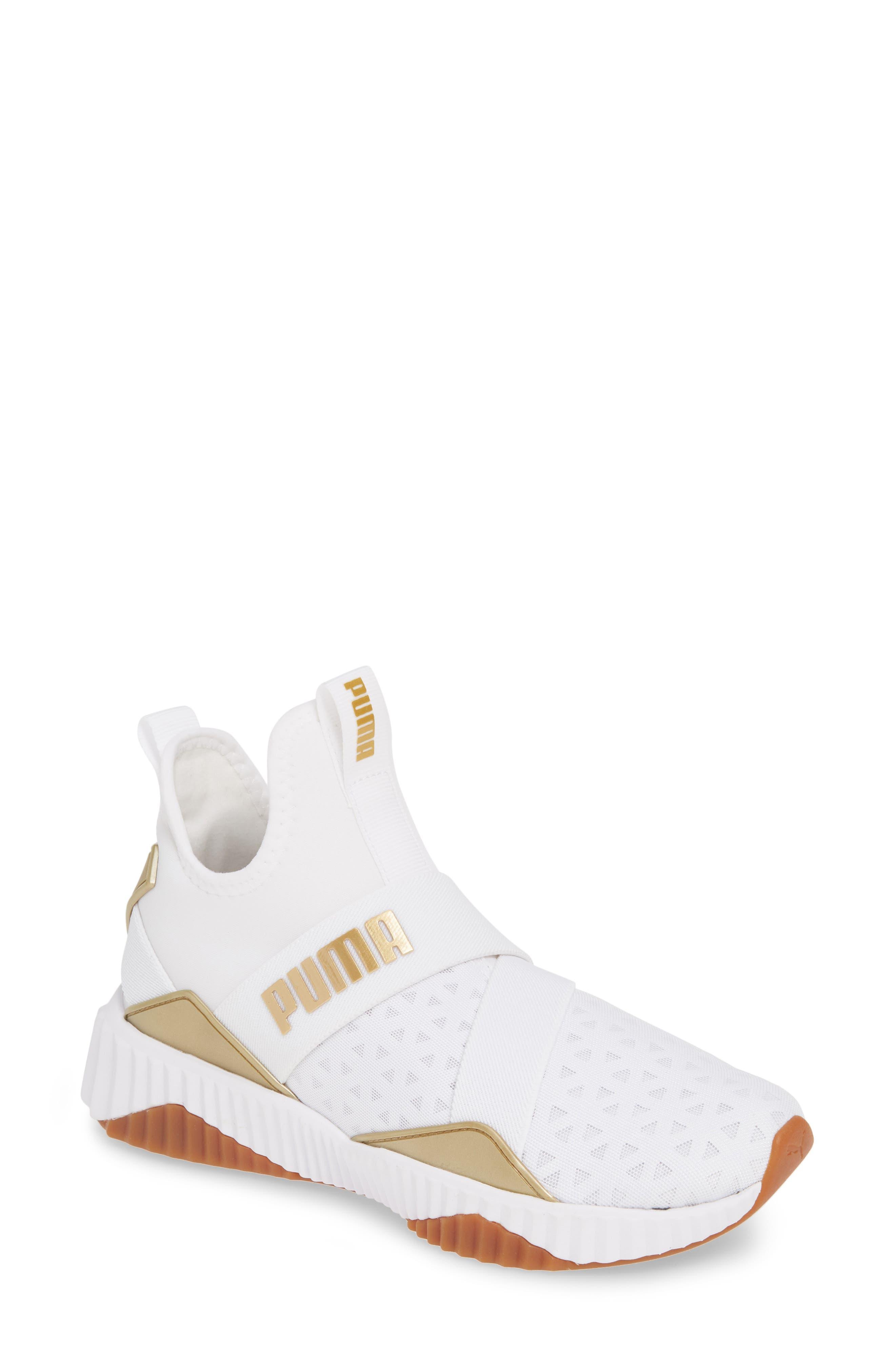 Puma Defy Mid Sparkle Training Shoe, White