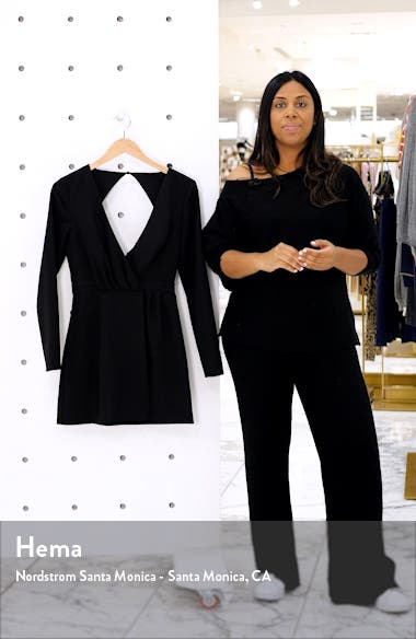 Victoria Long Sleeve Minidress, sales video thumbnail