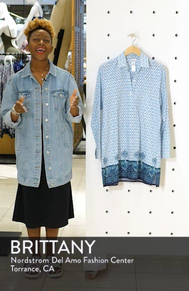Floral Isles Cover-Up Shirt, sales video thumbnail