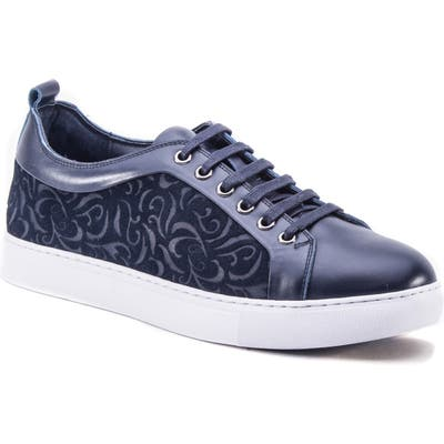 Robert Graham Creed Sneaker, Blue