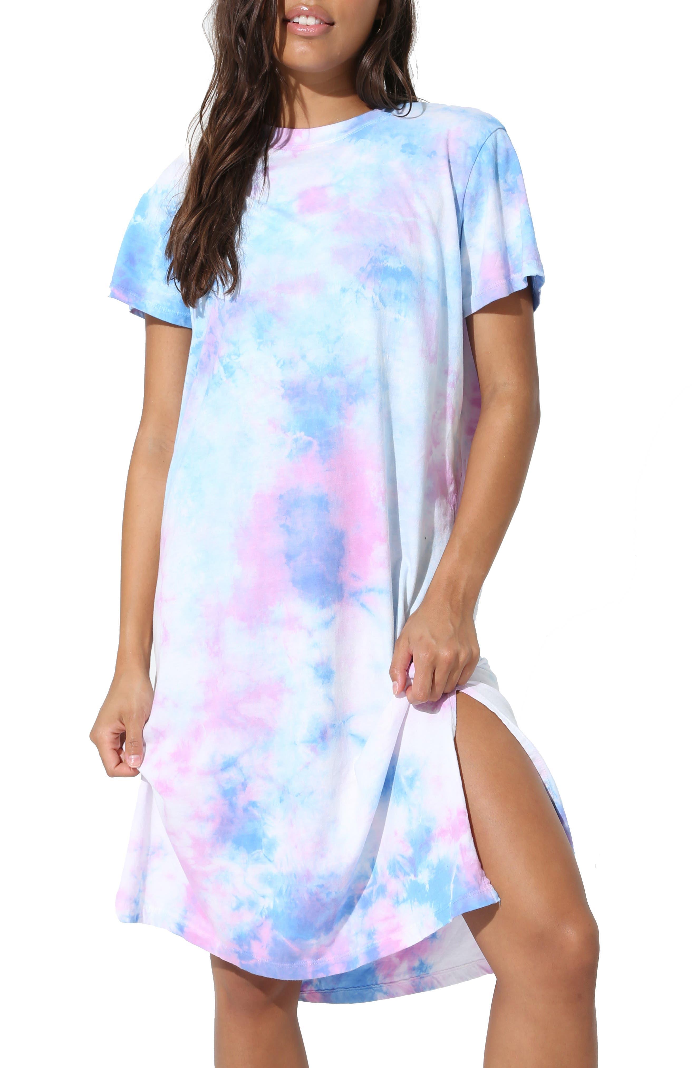 Pali Tie Dye T-Shirt Dress