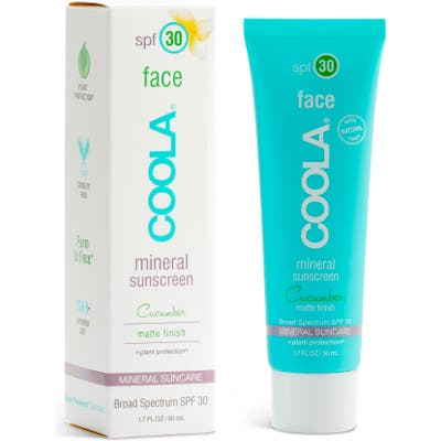 Coola Suncare Cucumber Face Mineral Sunscreen Spf 30