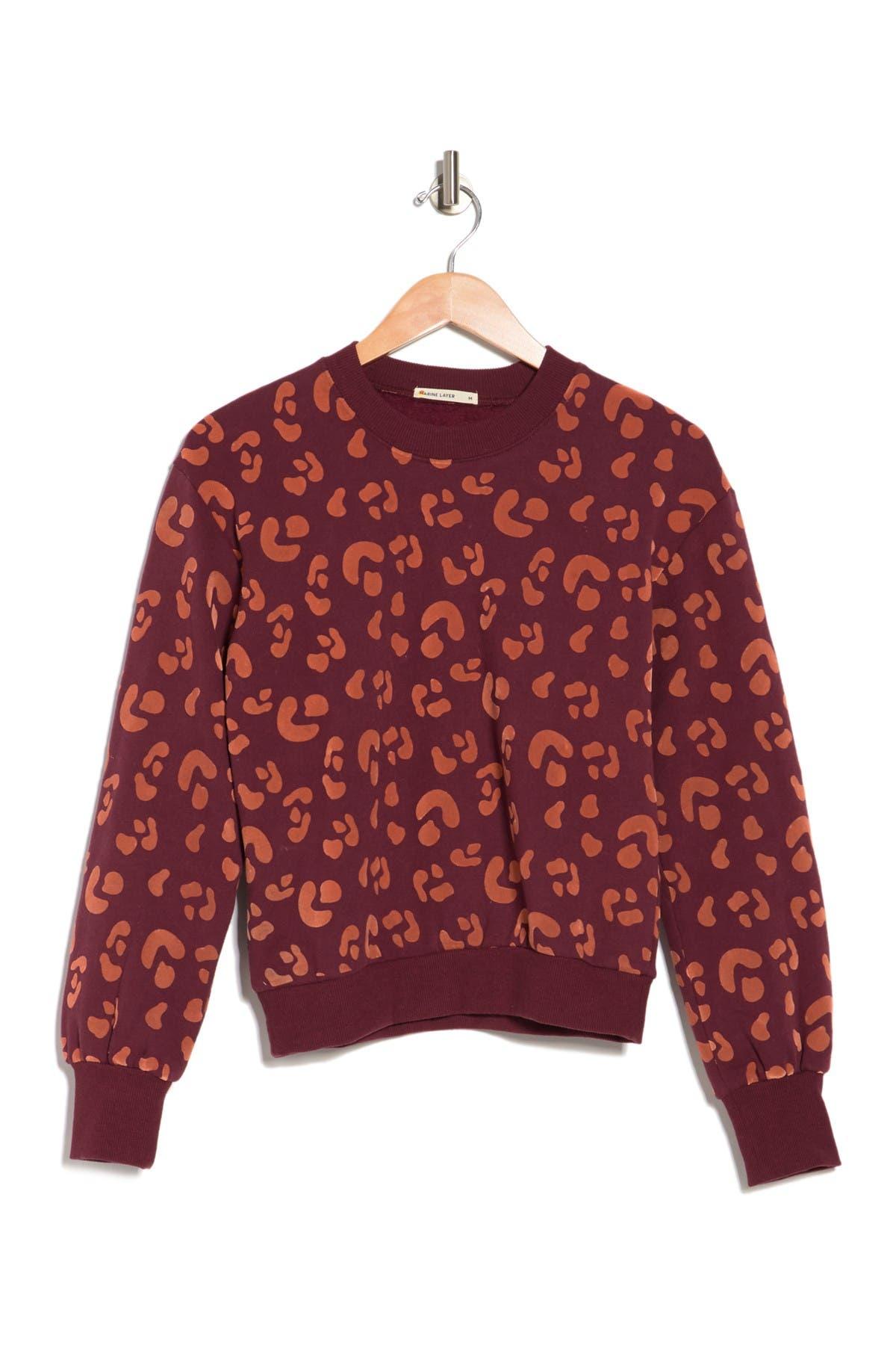 Image of Marine Layer Coraline Sweatshirt