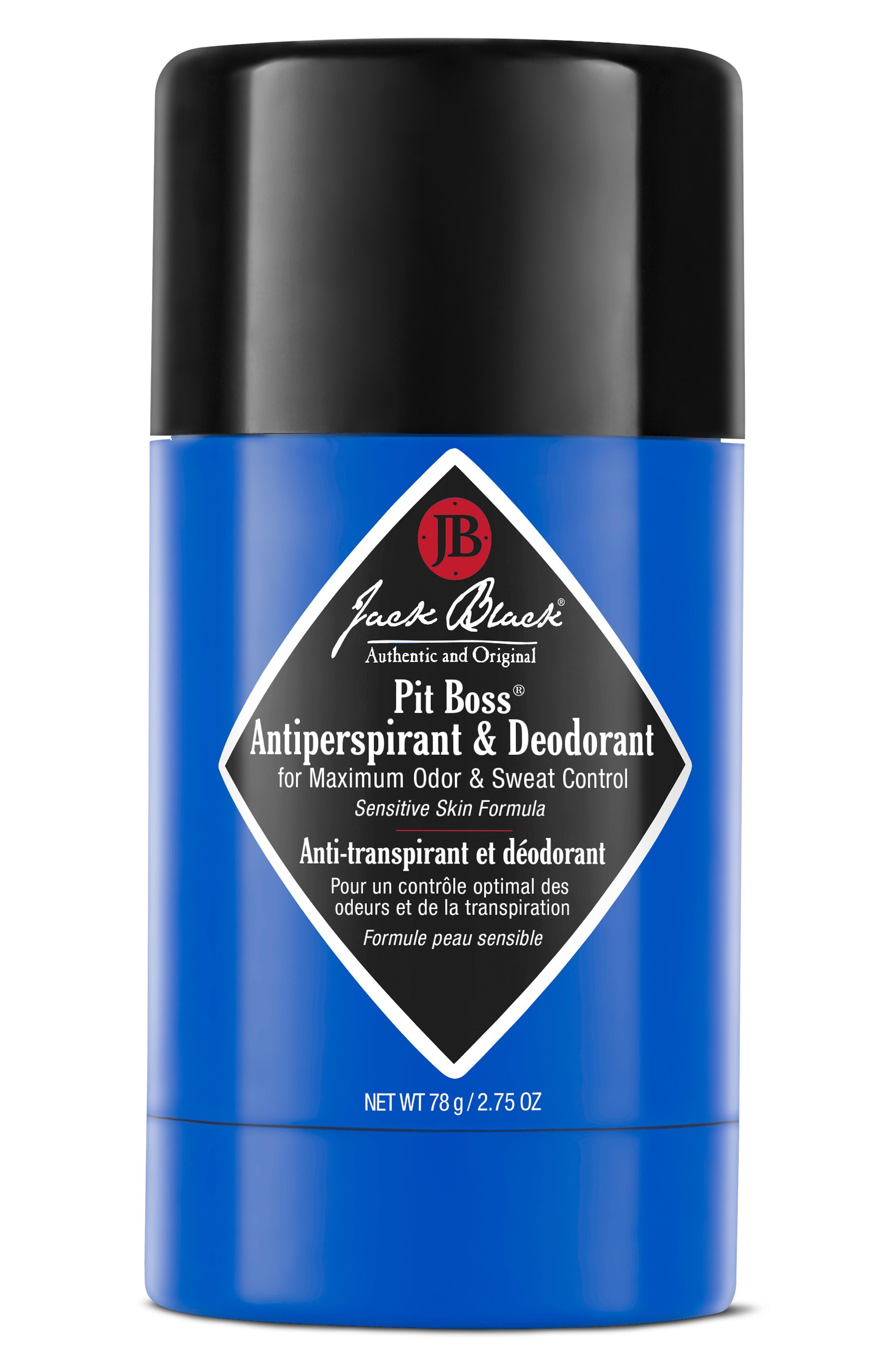 Image of Jack Black Boss Antiperspirant and Deodorant