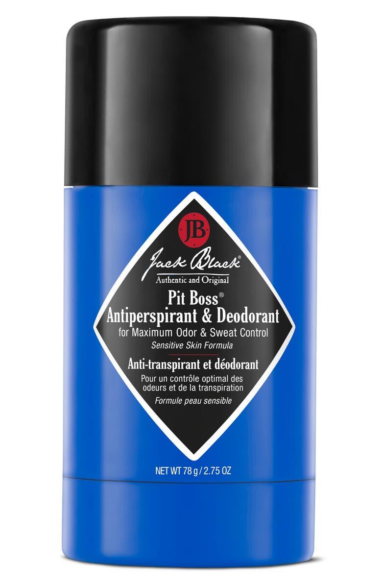 JACK BLACK Pit Boss Antiperspirant & Deodorant, Main, color, NO COLOR