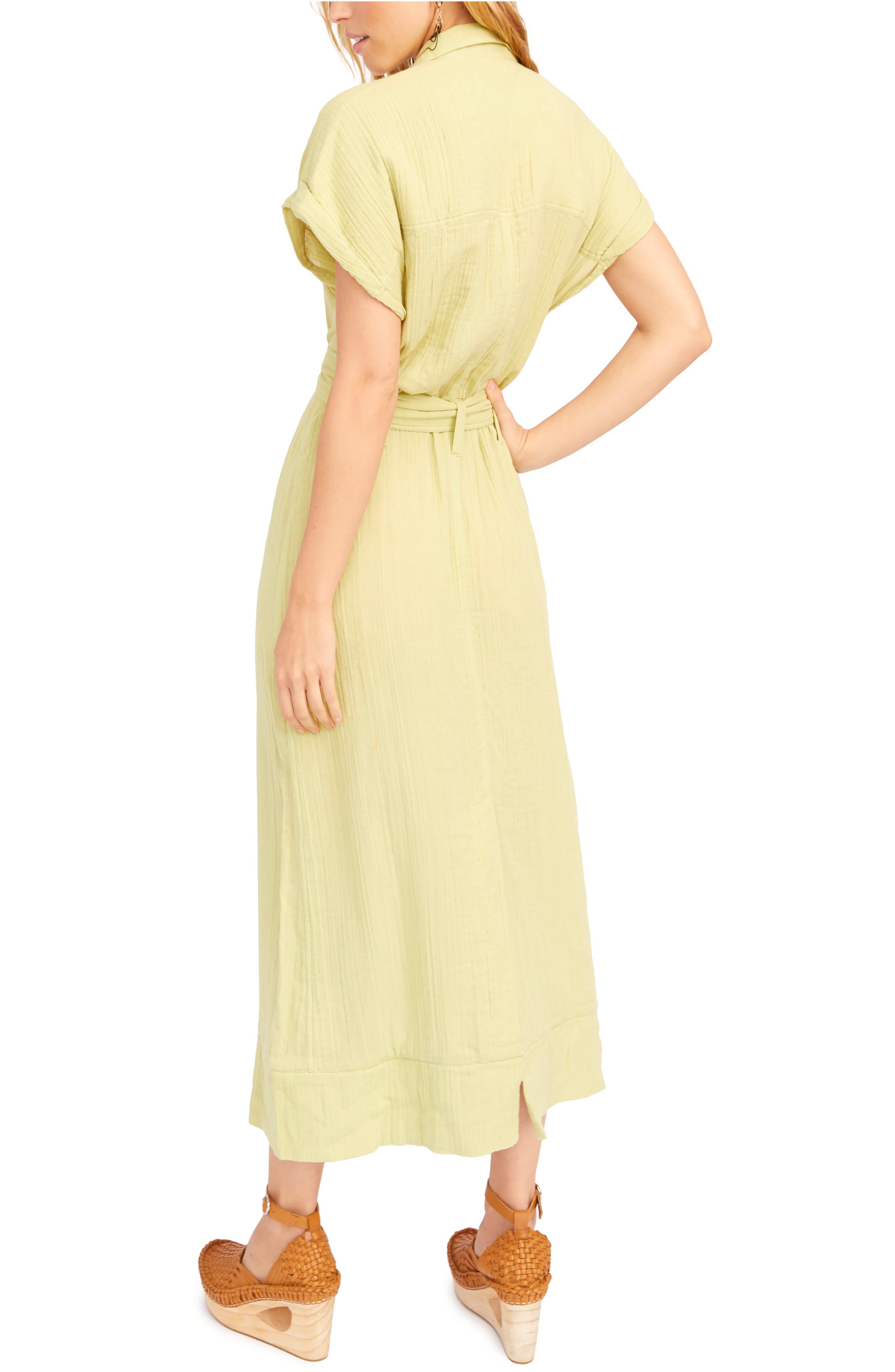 ,                             Endless Summer by Free People Soaking Up Summer Maxi Dress,                             Alternate thumbnail 2, color,                             GREEN
