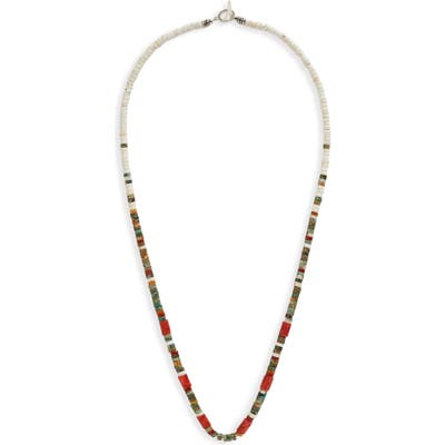 Mikia Heishi Bead Necklace
