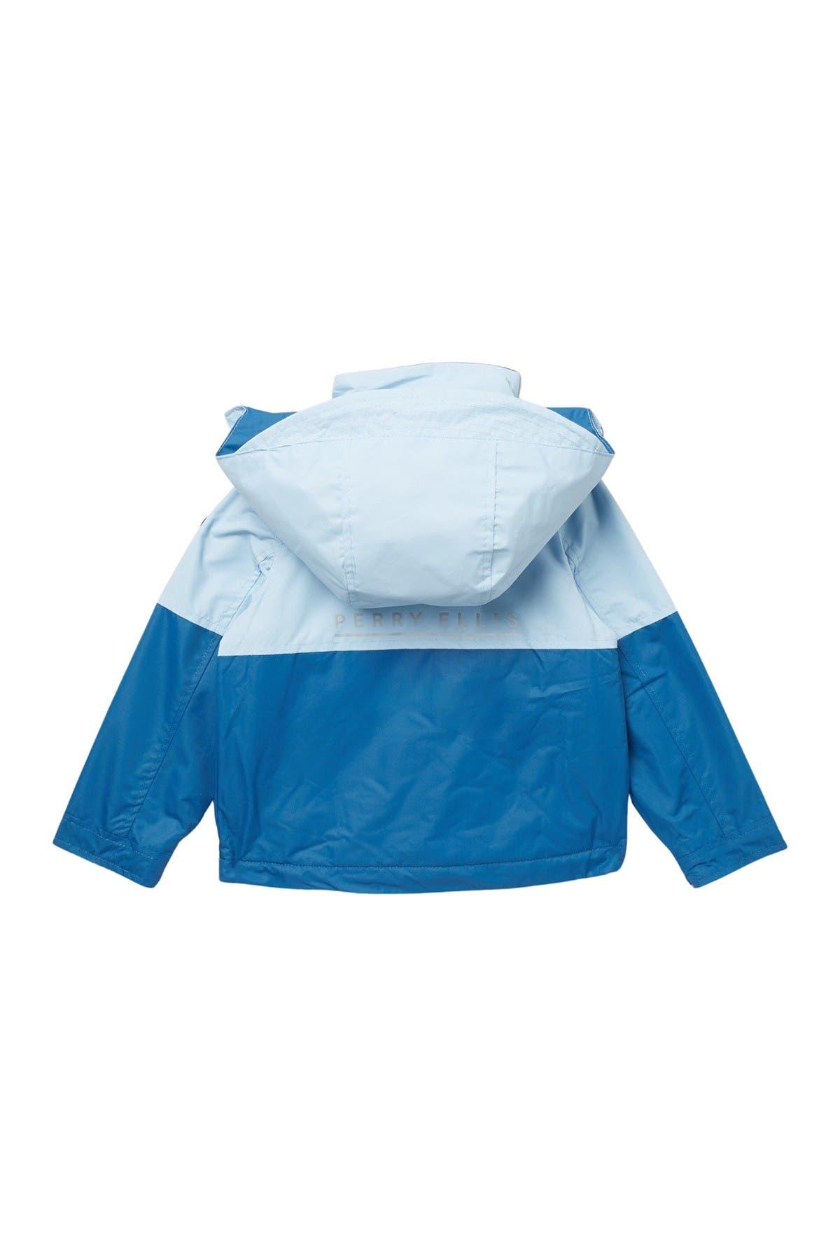 Image of Perry Ellis Colorblock Fleece Lined Jacket