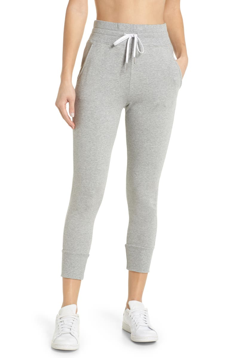 ZELLA Repeat High Waist Crop Jogger Pants, Main, color, 030