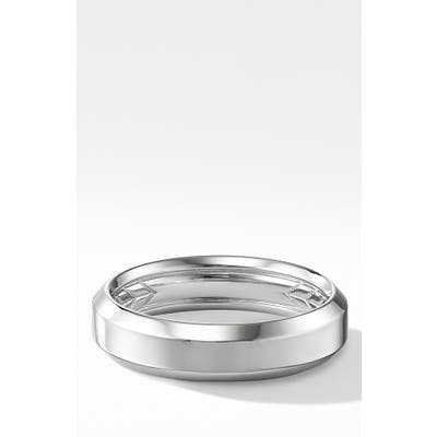 David Yurman 18K Beveled Band Ring