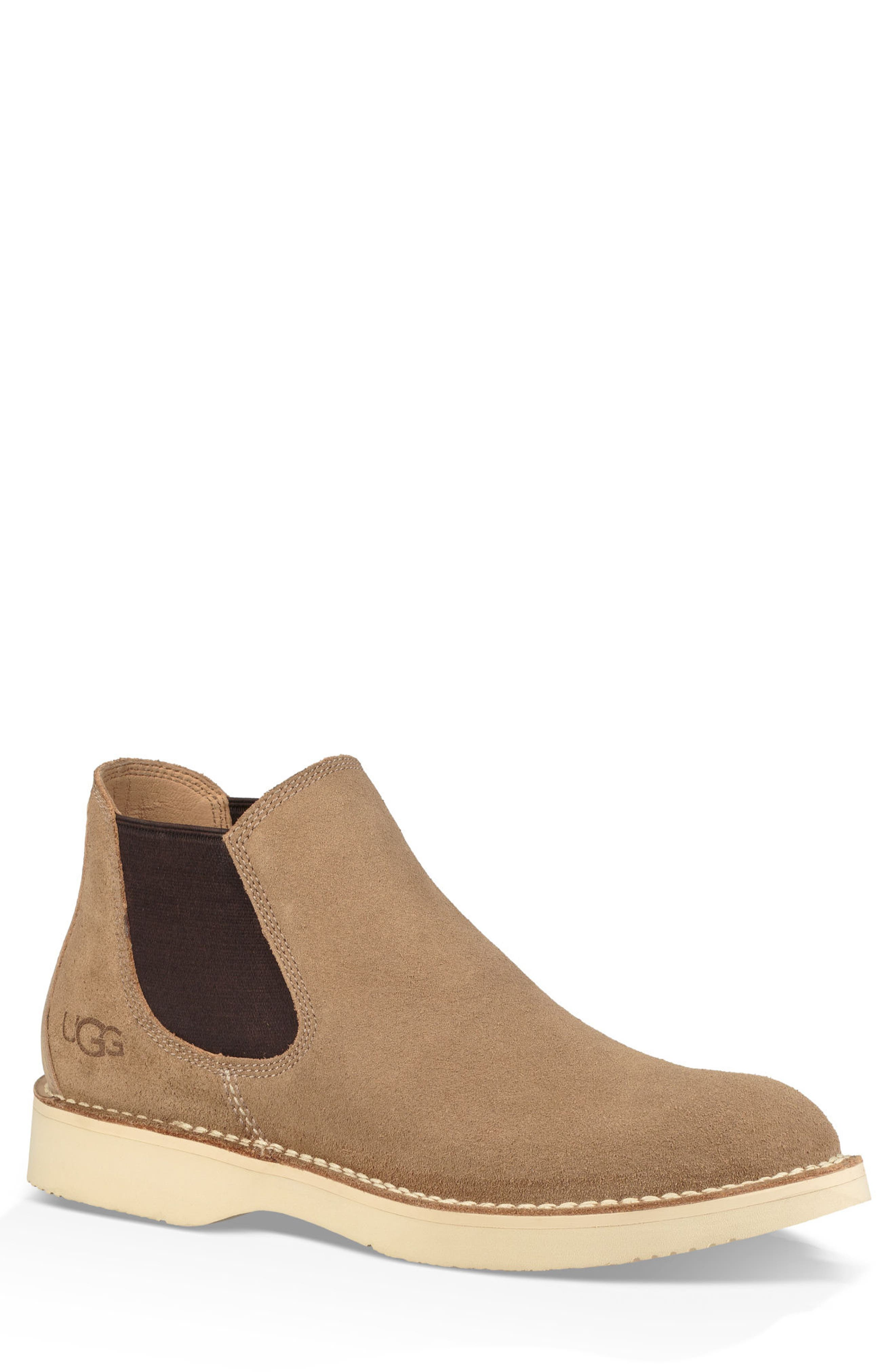 Camino Chelsea Boot, Main, color, DESERT TAN