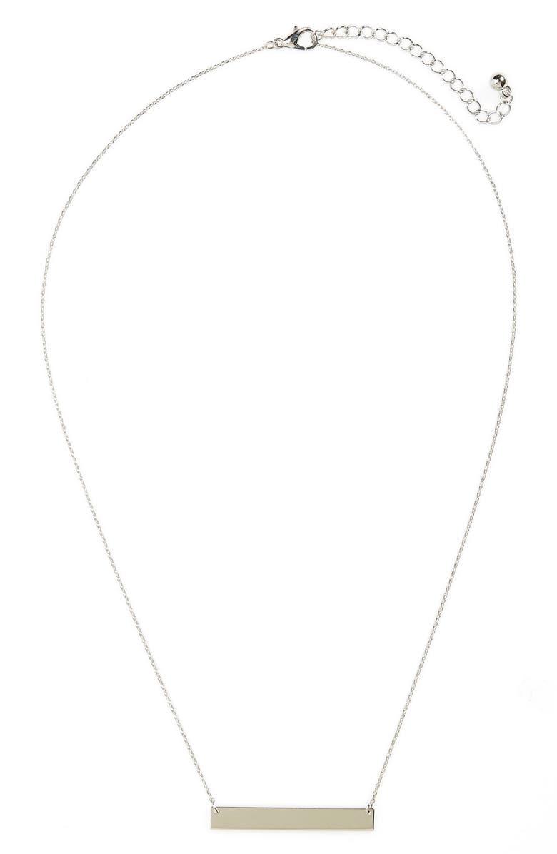 BP. Bar Charm Necklace, Main, color, 040