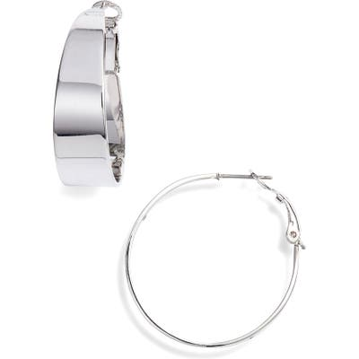 Vince Camuto Medium Tapered Hoop Earrings