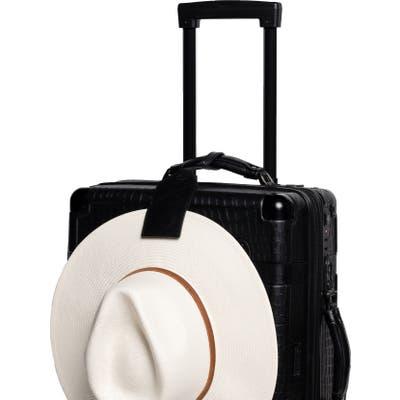 Toptote Leather Hat Clip - Black