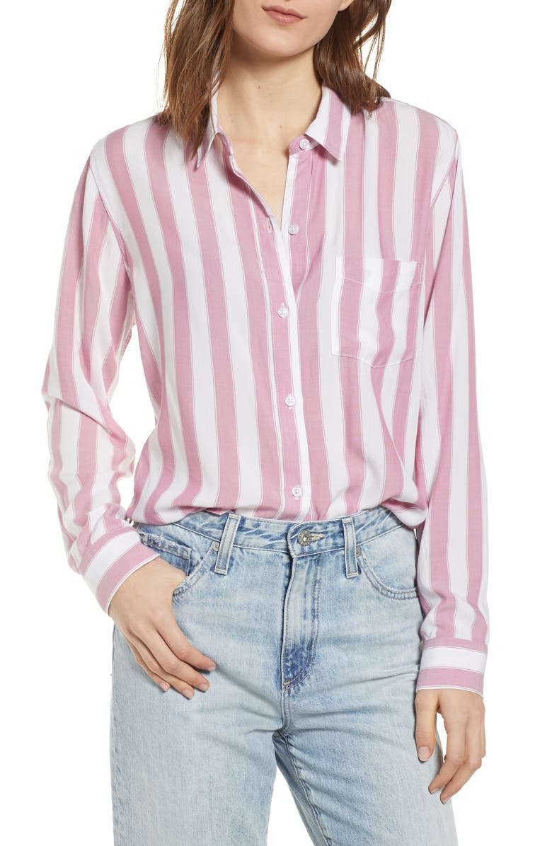 RAILS Dana Stripe Shirt, Main, color, 650