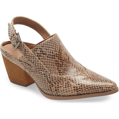 Coconuts By Matisse Go Bare Slingback Mule- Brown