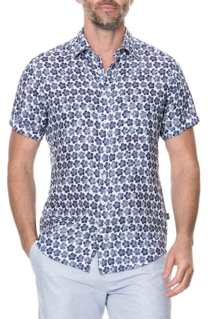 Image of RODD AND GUNN Keyburn Short Sleeve Regular Fit Shirt