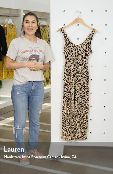 Animal Print Midi Dress, sales video thumbnail