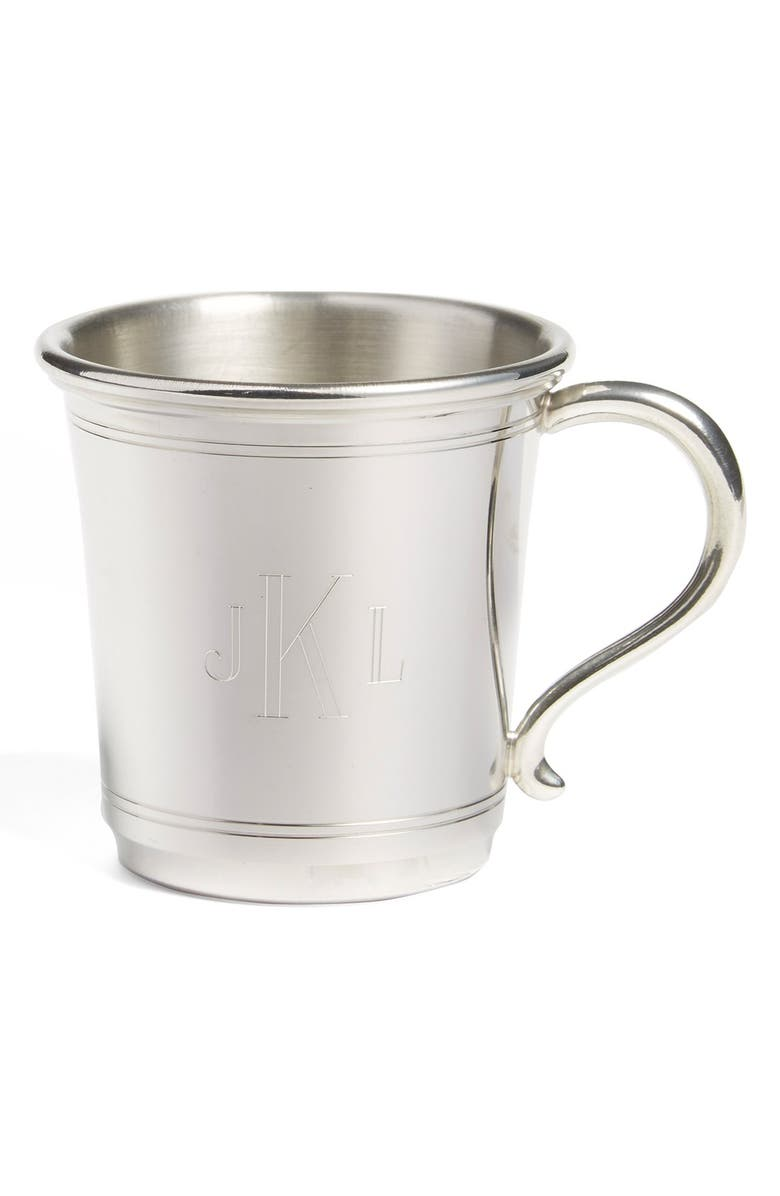 SALISBURY PEWTER 'Carolina' Personalized Baby Cup, Main, color, NONE