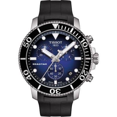 Tissot T-Sport Seastar 1000 Rubber Strap Chronograph, 45Mm