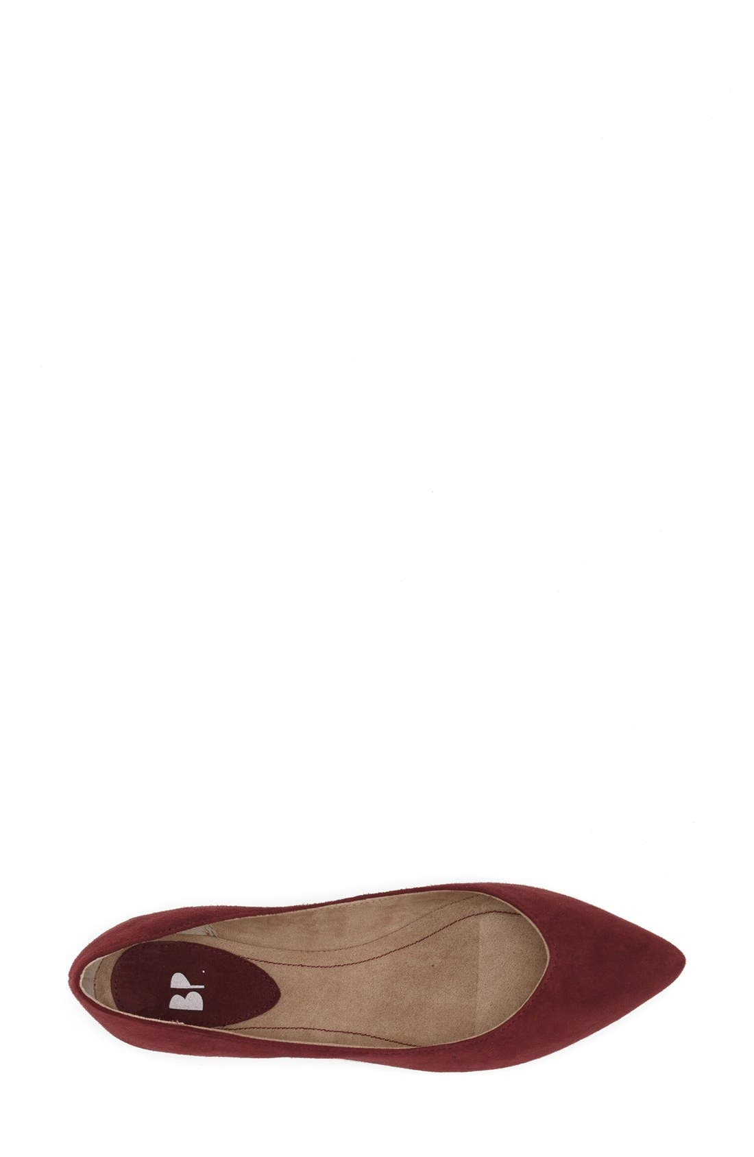 ,                             'Moveover' Pointy Toe Leather Flat,                             Alternate thumbnail 45, color,                             933