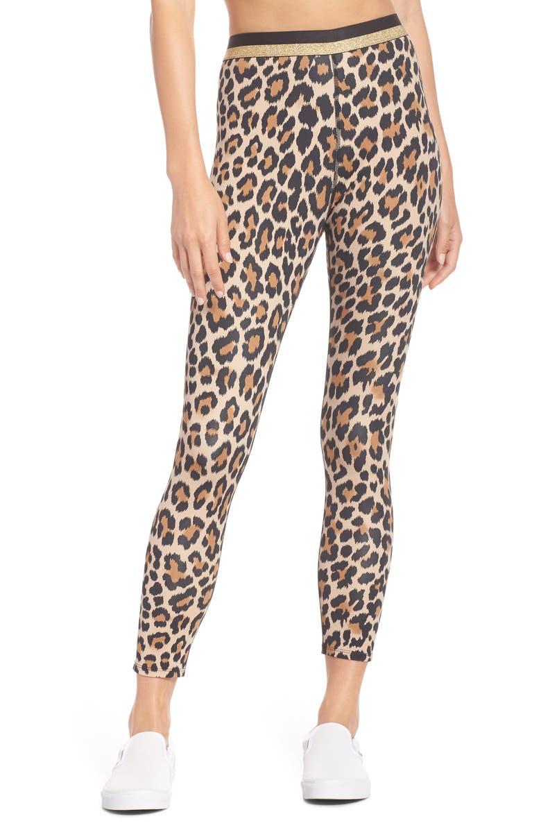 221b390a9db88 kate spade new york leopard print leggings   Nordstrom