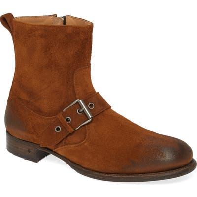 John Varvatos Star Usa Essex Artisan Buckle Boot, Brown