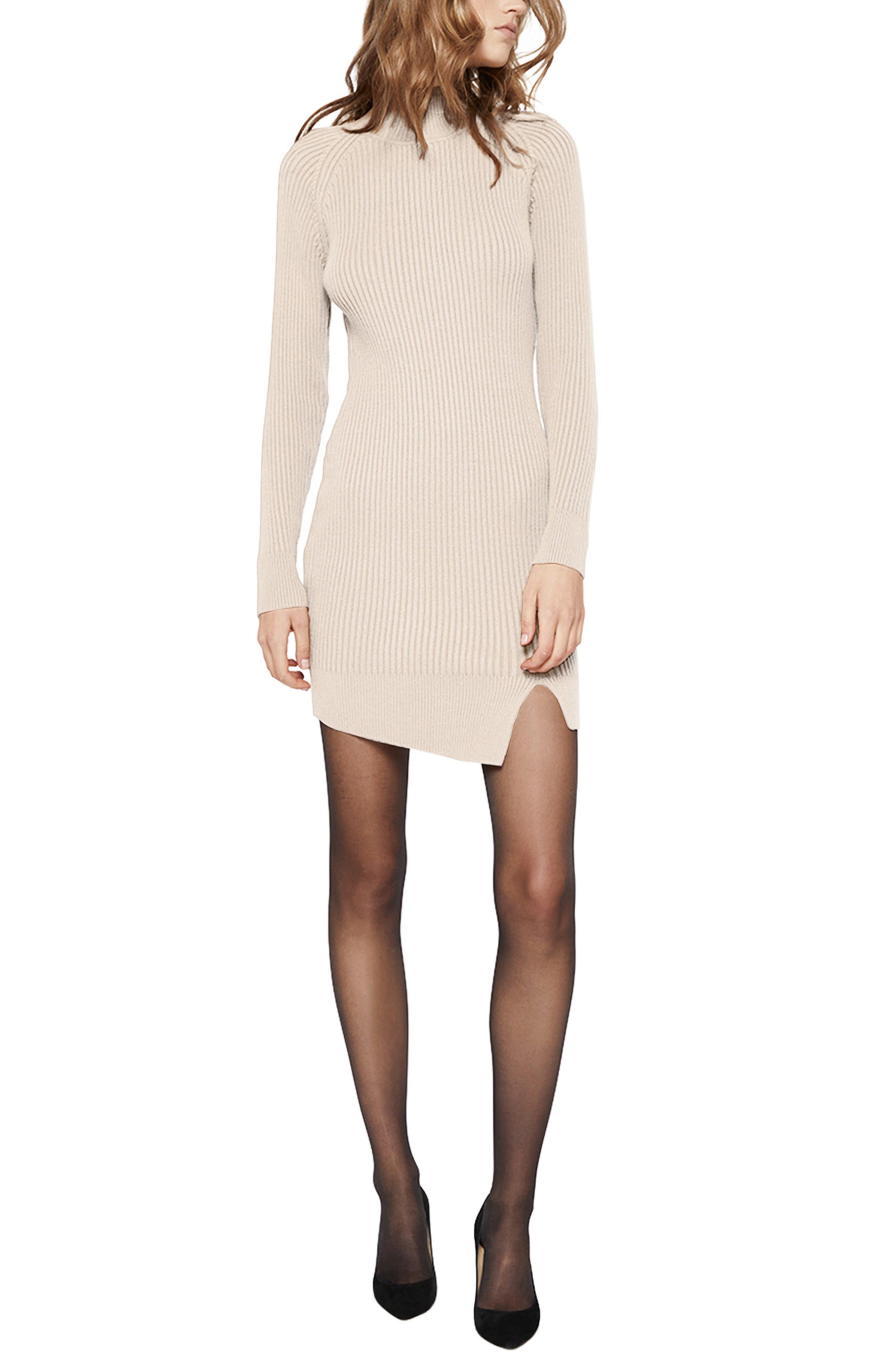 Tahani Long Sleeve Sweater Minidress