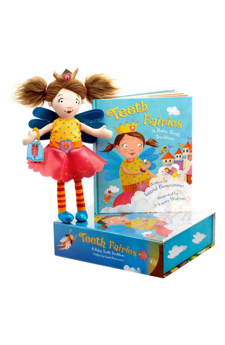 TEETH FAIRIES 'Teeth Fairies: A Baby Teeth Tradition' Book, Doll & Box Set, Main, color, 000