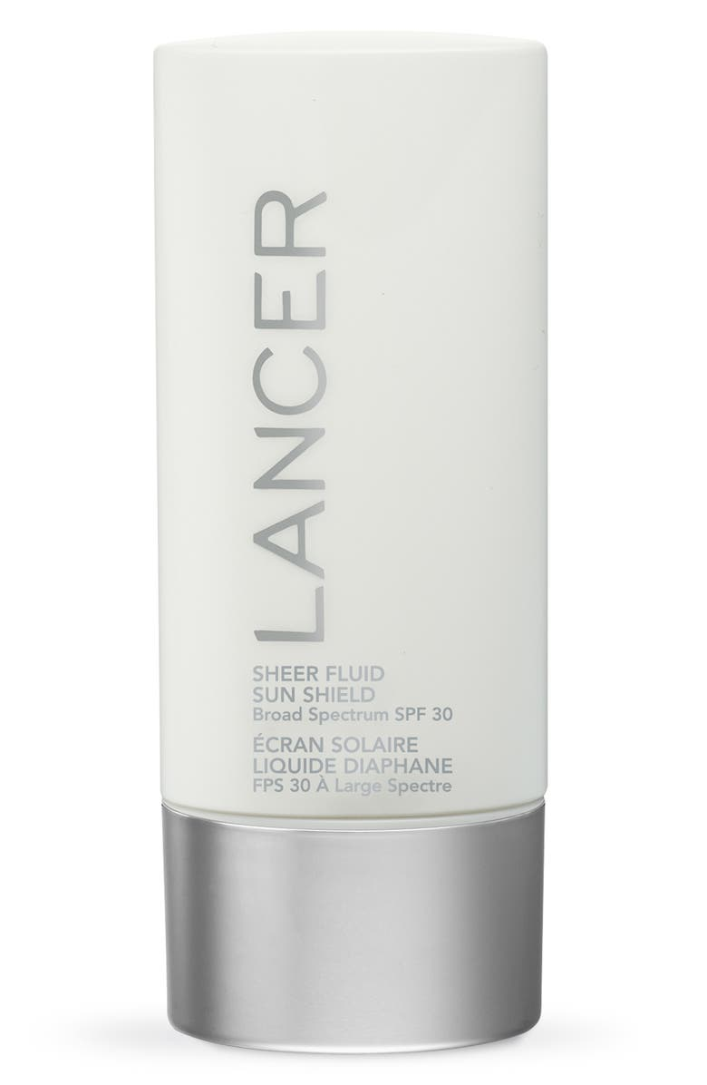 LANCER SKINCARE Sheer Fluid Sun Shield SPF 30 Sunscreen, Main, color, NO COLOR