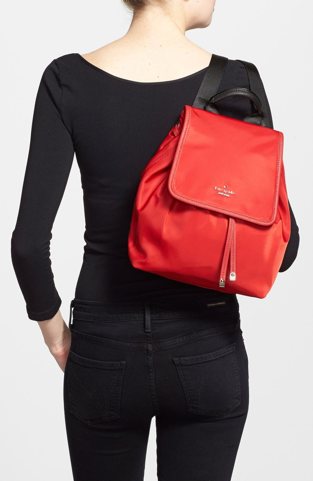 ,                             'molly' nylon backpack,                             Alternate thumbnail 12, color,                             648