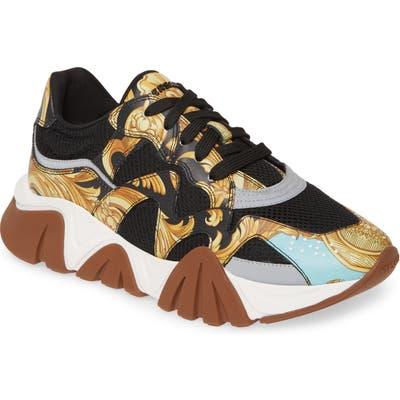 Versace Achilles Sneaker, Black