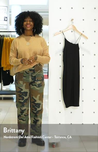 Spaghetti Strap Asymmetrical Body-Con Dress, sales video thumbnail