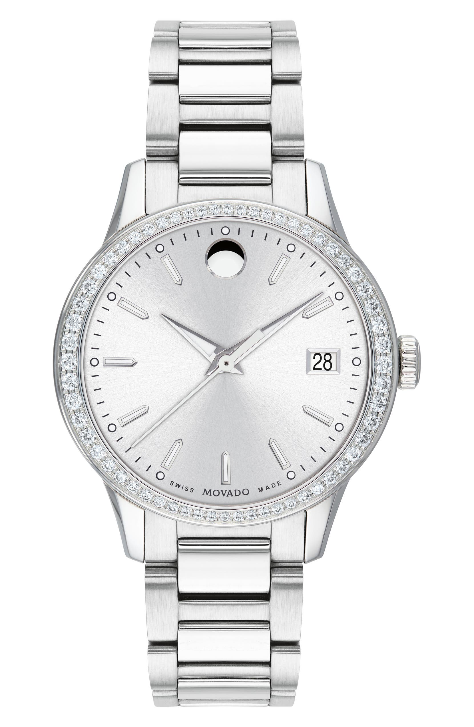 Apria Pavé Diamond Bracelet Watch 32mm