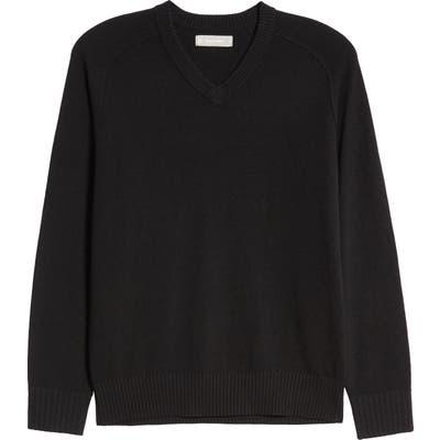 Everlane The Recashmere V-Neck Sweater, Black