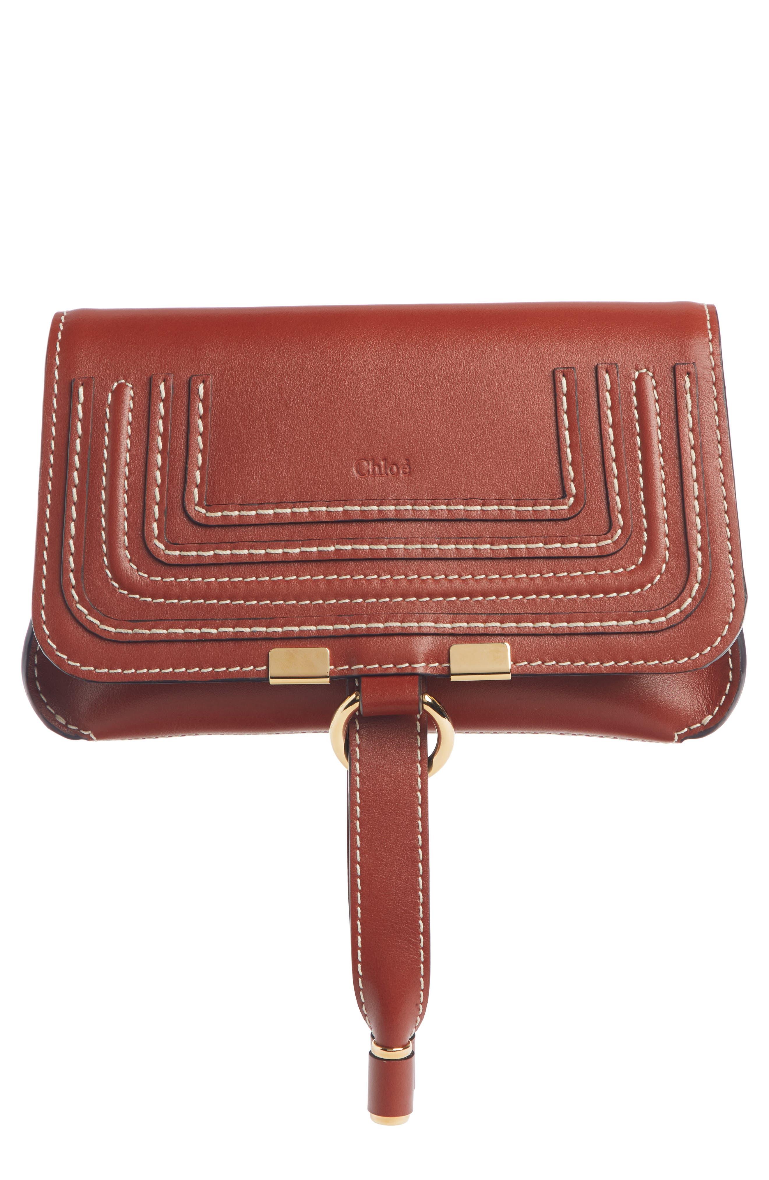 Marcie Convertible Belt Bag, Main, color, BROWN/ BROWN